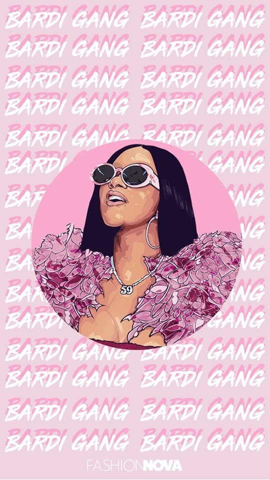 Fashion Nova   Cardi B Wallpapers are here Save your fave 540x960