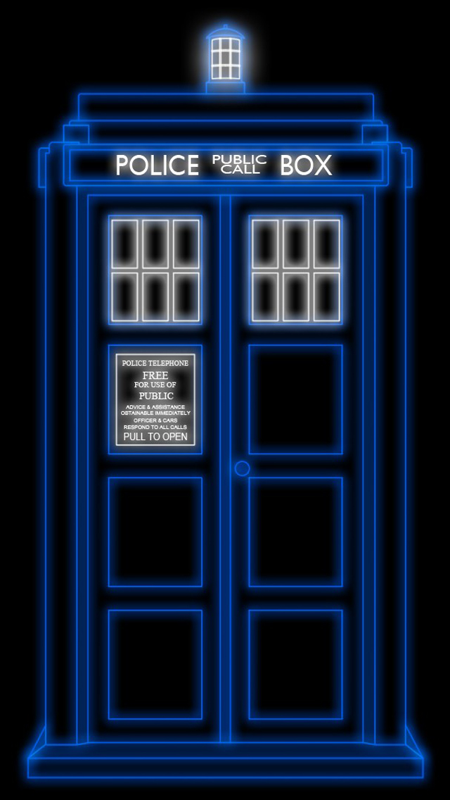 Tardis iPhone 5 Wallpaper 640x1136 640x1136