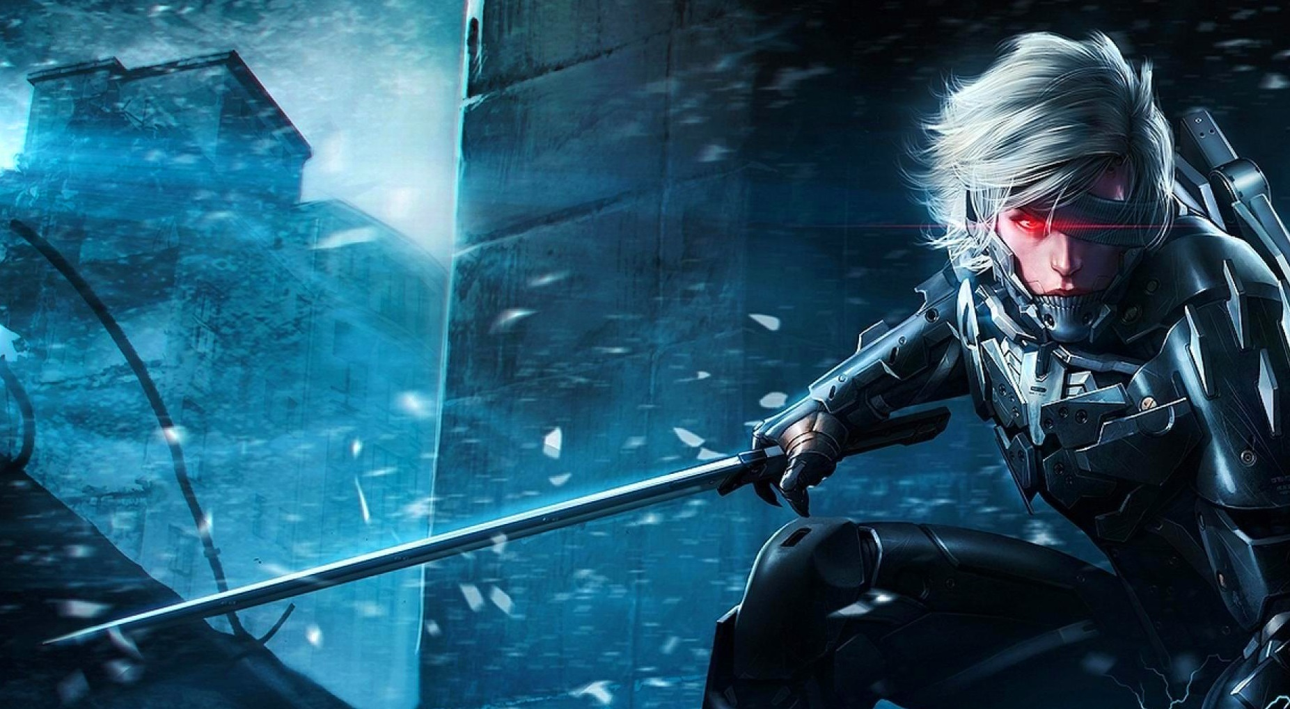 42 Hd Raiden Wallpaper On Wallpapersafari: Metal Gear Rising Revengeance Wallpaper