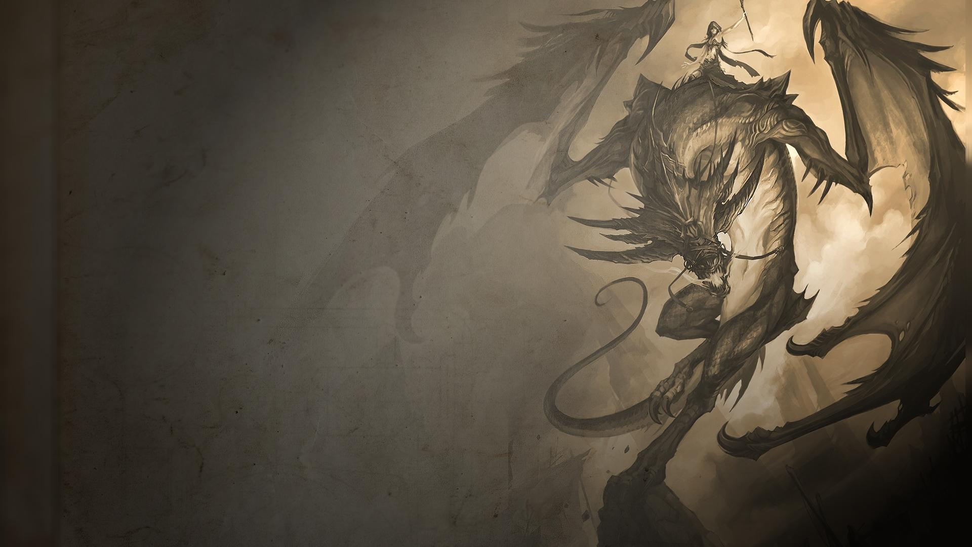 1920x1080 dragon wallpaper desktop   Magic4Wallscom 1920x1080