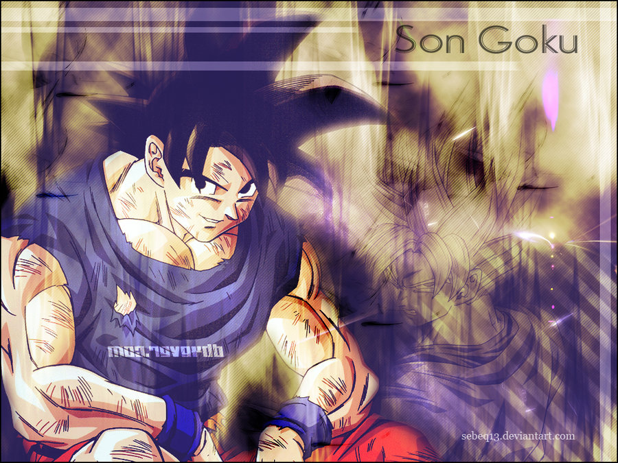 Son Goku wallpaper by sEbeQ13 900x675