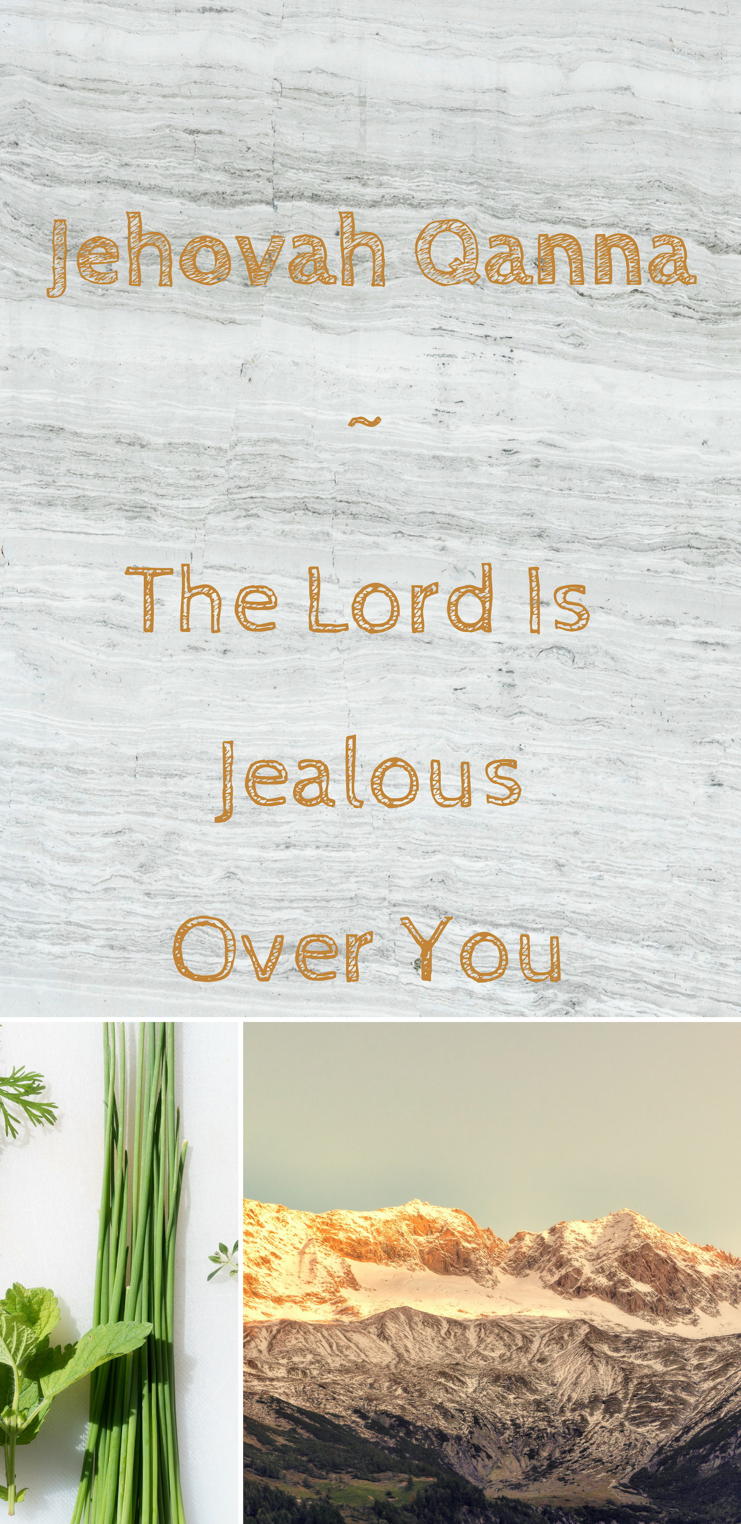 Jehovah Qanna The Lord Is Jealous Over You Themed Multi color 1440x2960