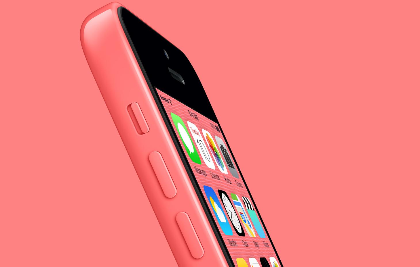 Apple iPhone 5C 16GB Pink 1459x929