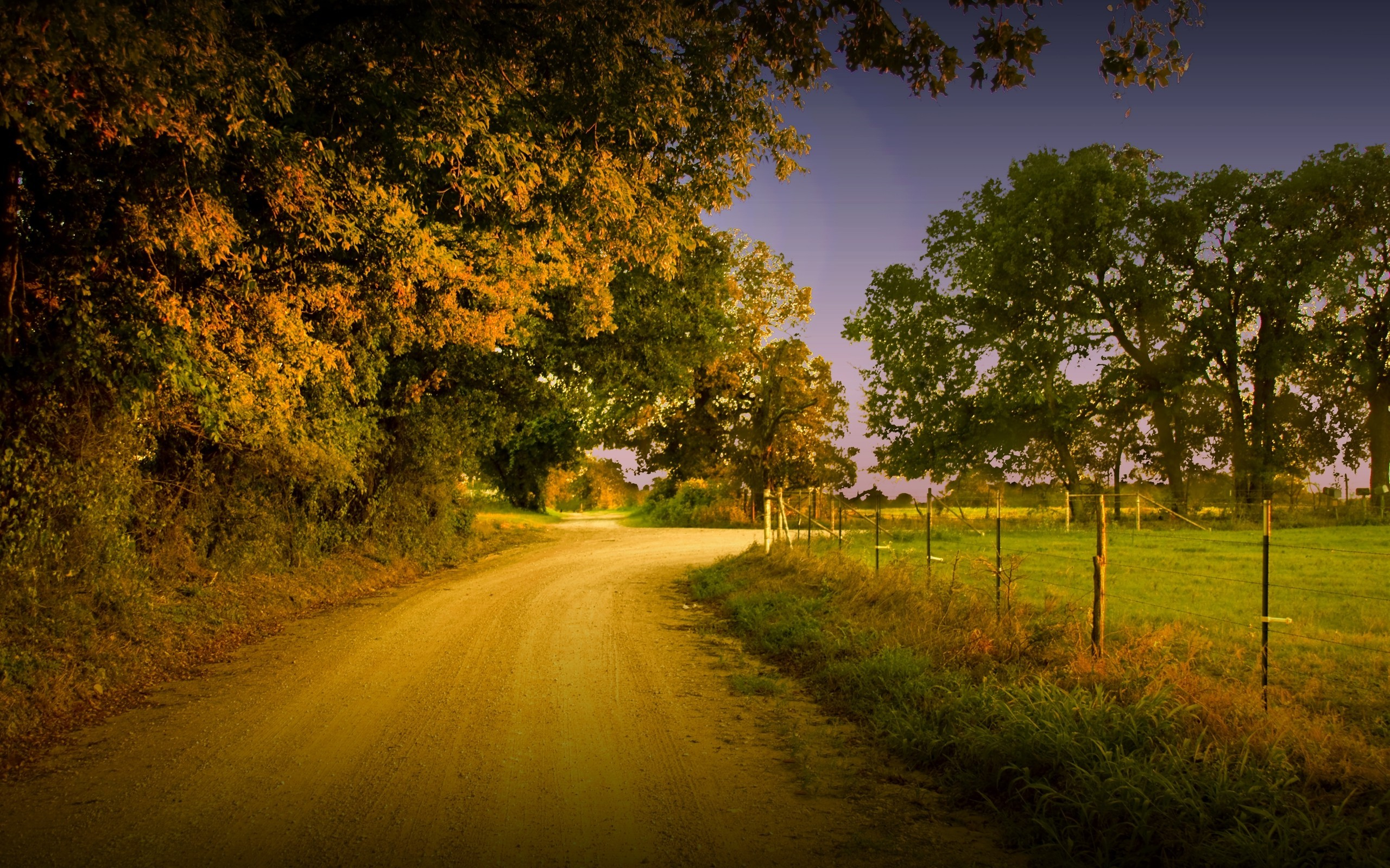 Country road wallpaper 14955 2560x1600