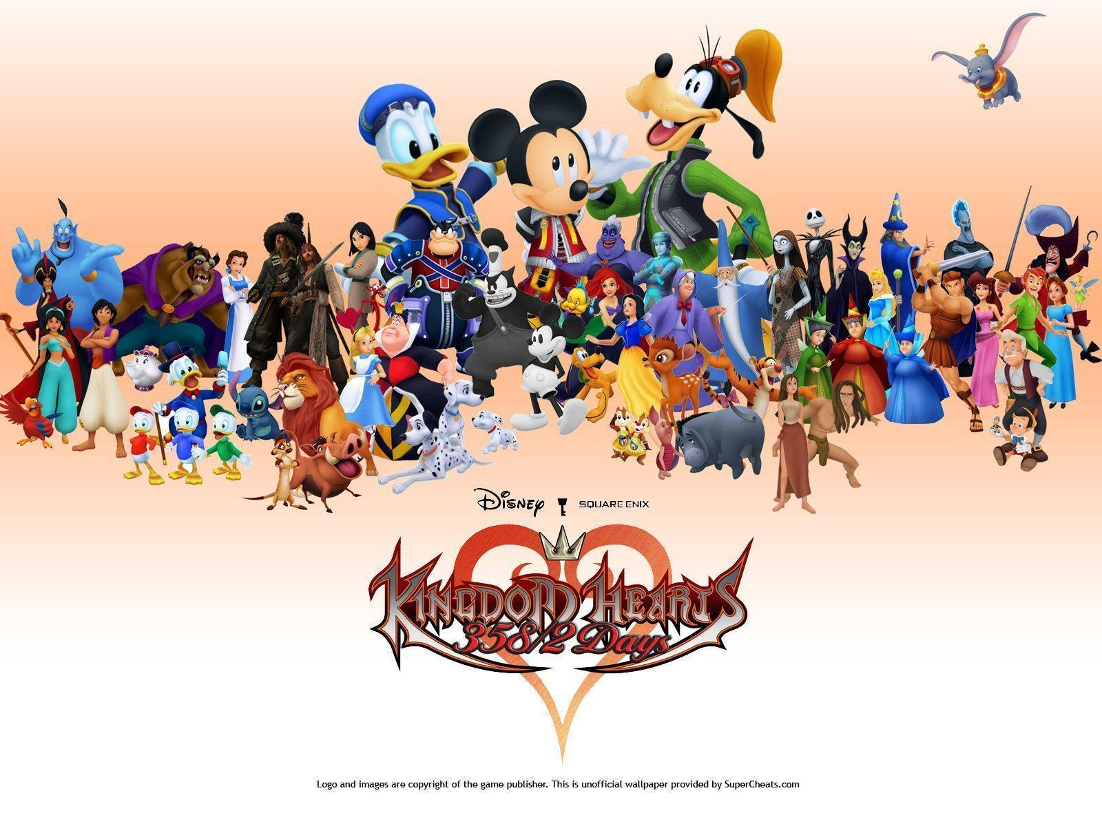 Kingdom Hearts Wallpapers 1600x1200