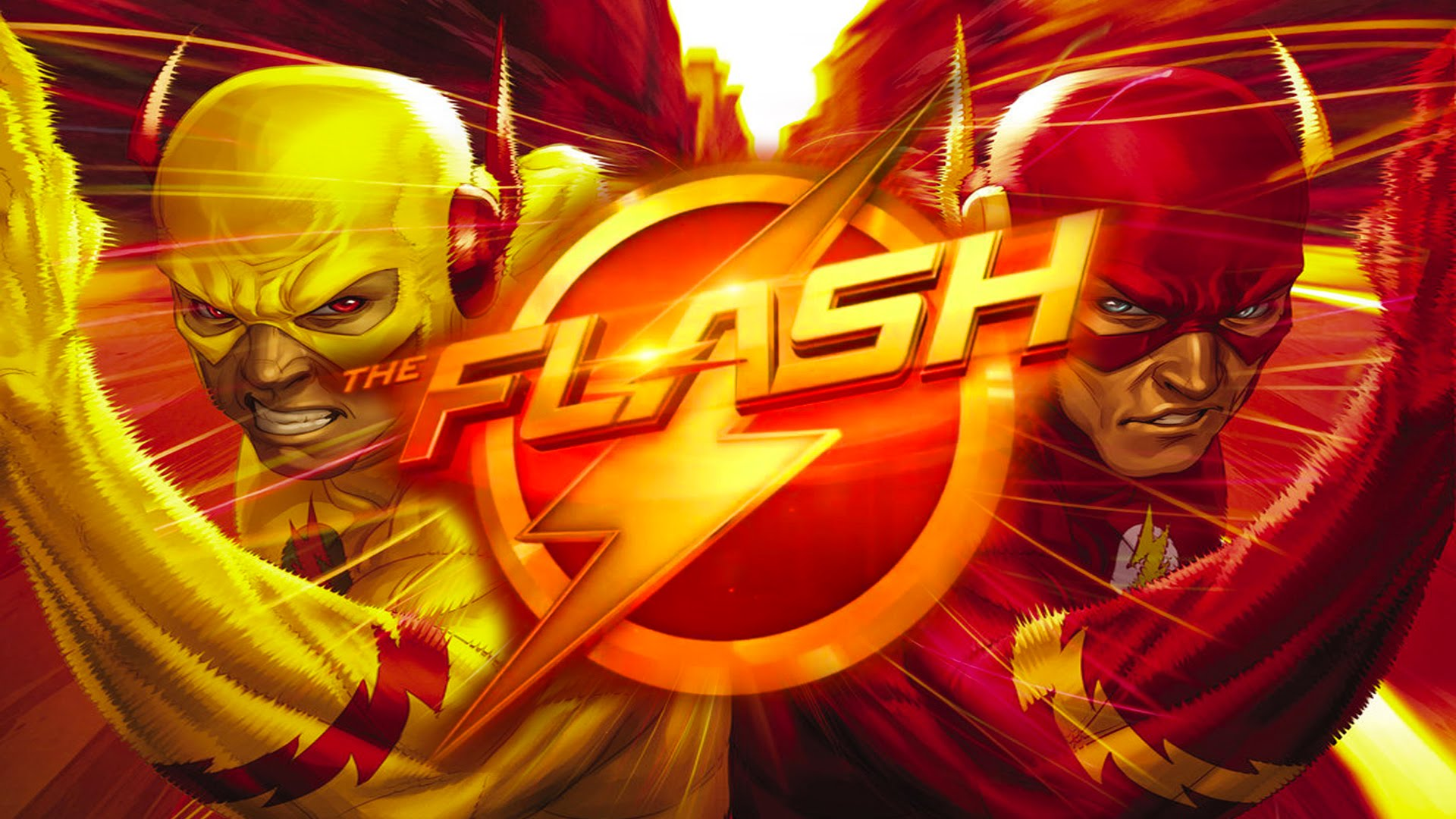 Free Download Flash Vs Reverse Flash Wallpaper 1920x1080 Faster