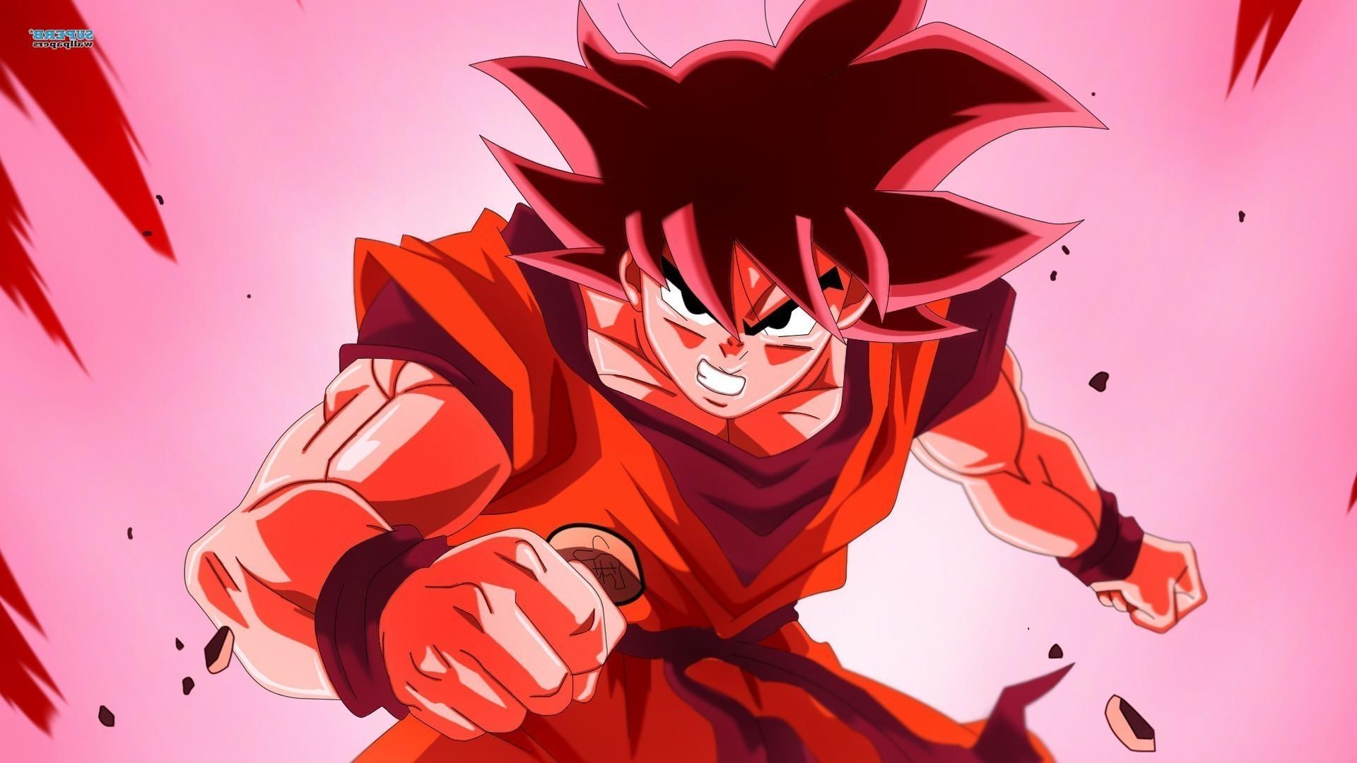 Goku Super Saiyan God Wallpapers 57 pictures 1920x1080