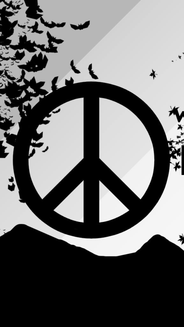 Peace And Love Iphone Wallpaper : HD Peace Sign Wallpaper - WallpaperSafari
