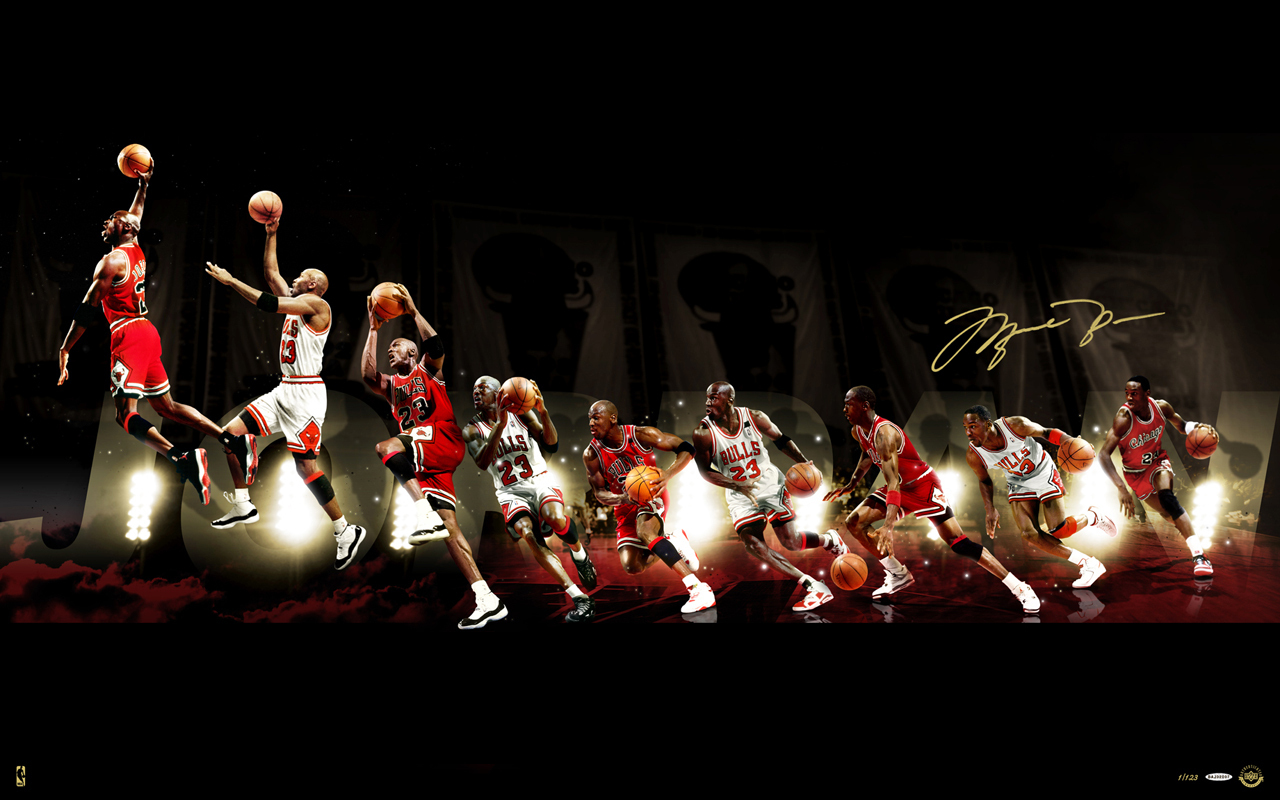 Michael Jordan images through the years HD wallpaper and 1280x800