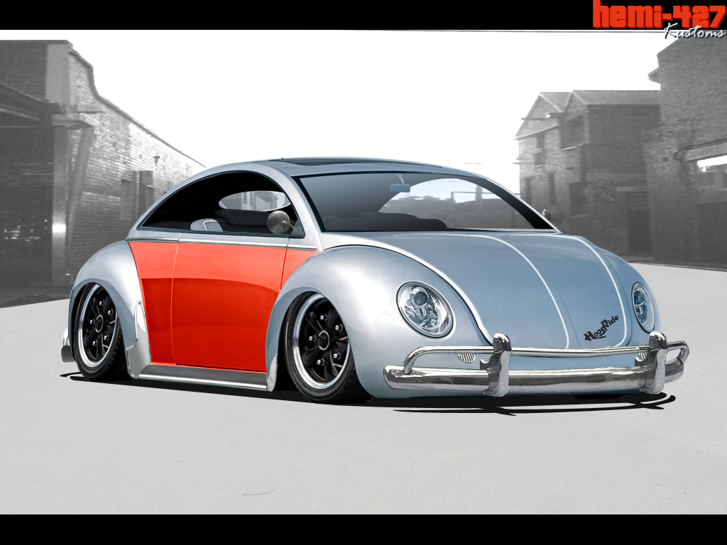 Slammed Vw Bug Wallpaper Vw beetle for virtual tuning 1024x768