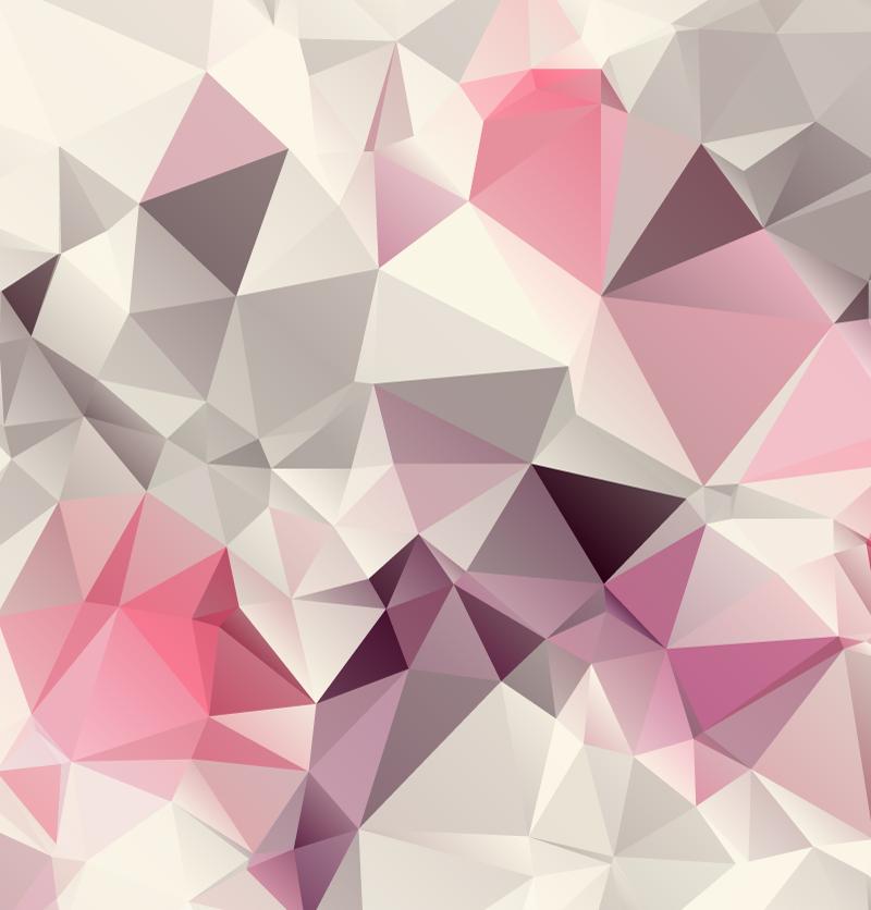 Pink Geometric Wallpaper - WallpaperSafari