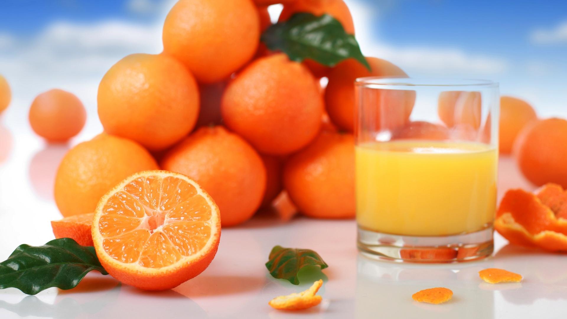 Orange Fruit Juice Wallpaper Background Wallpaper with 1920x1080 1920x1080