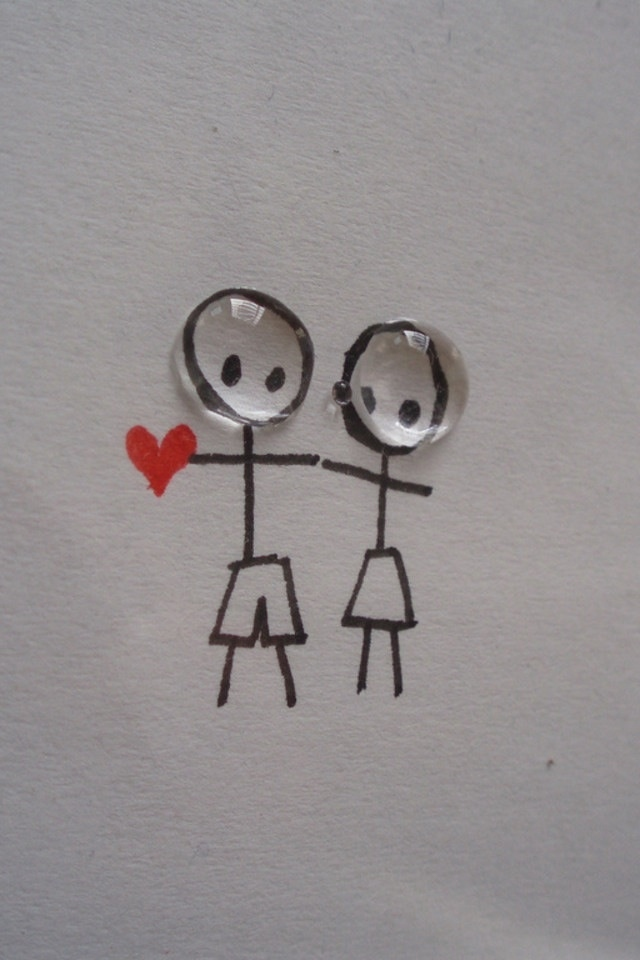 Cute Love Couple Iphone 4s Wallpapers 640x960 Hd Iphone 4s 640x960