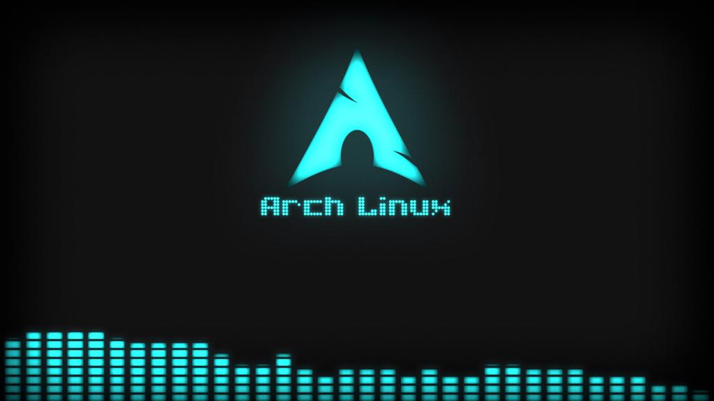 Arch Linux Wallpaper Dark by Deconimus 1024x576