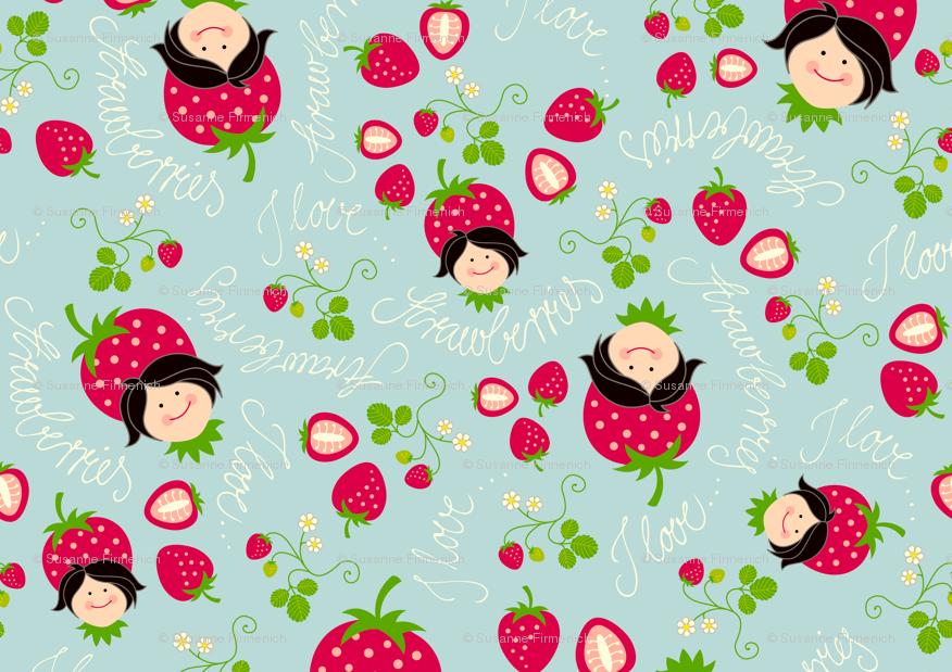kawaii strawberry wallpaper vintage - photo #27