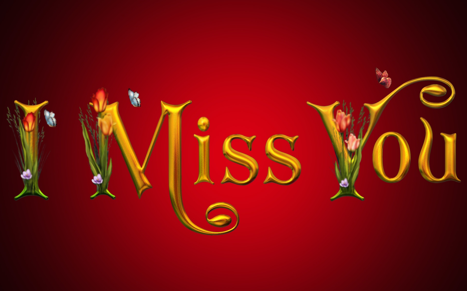 I miss you full HD awesome wallpaper Beautiful hd wallpaper 1920x1200