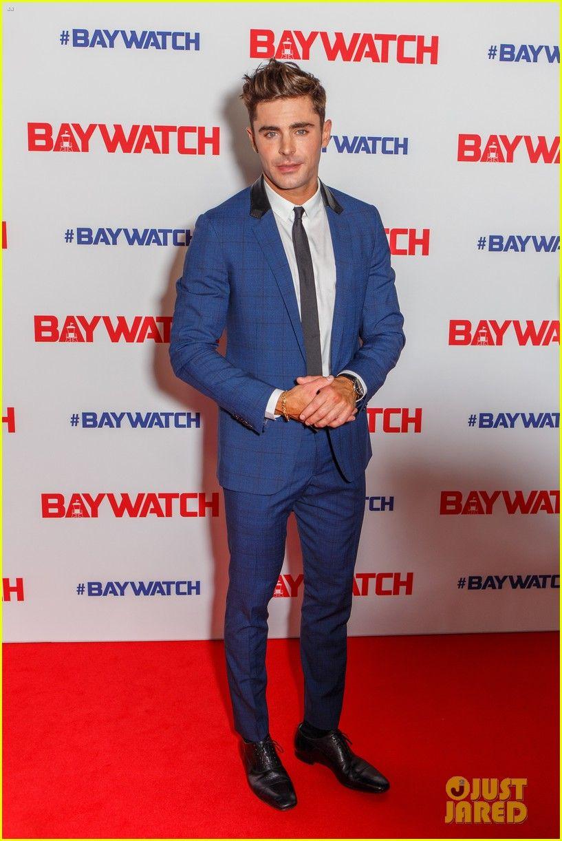 Zac Efron Alexandra Daddario Bring Baywatch to Sydney Zac 817x1222