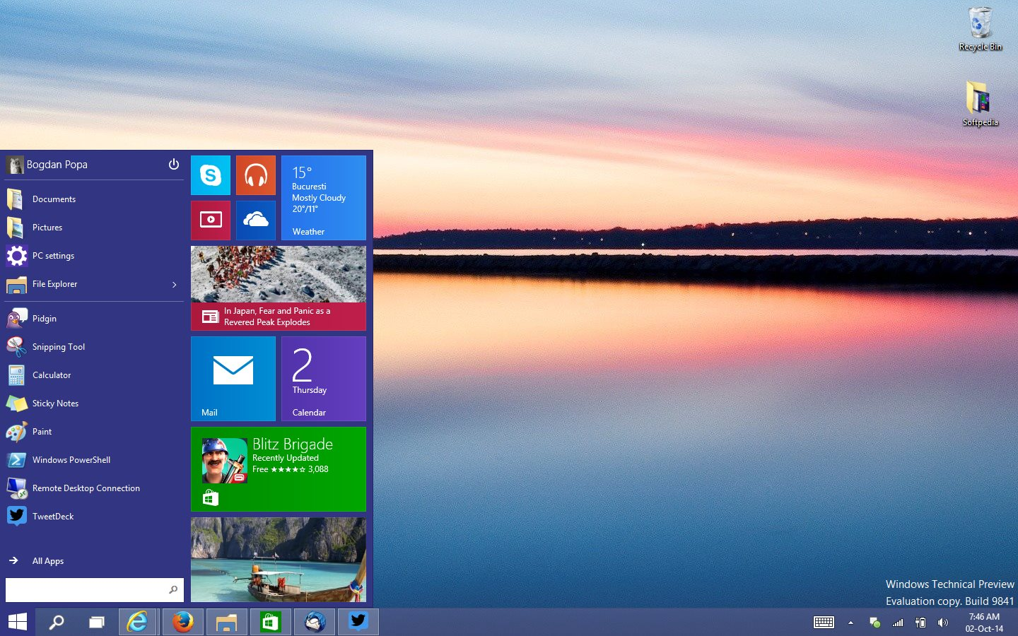 Windows 10 Build to Launch Next Week Windows 10 for Phones Preview 1440x900