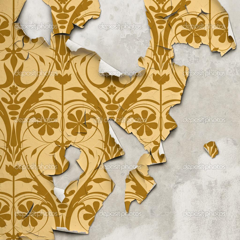 old peeling wallpaper wallpaper 1024x1024