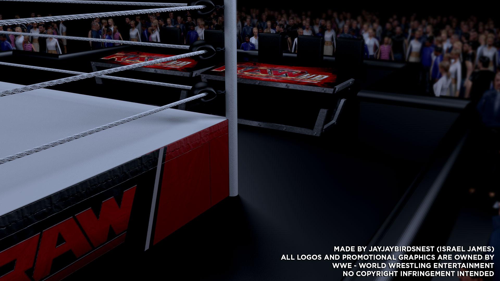 Wwe wrestling ring background