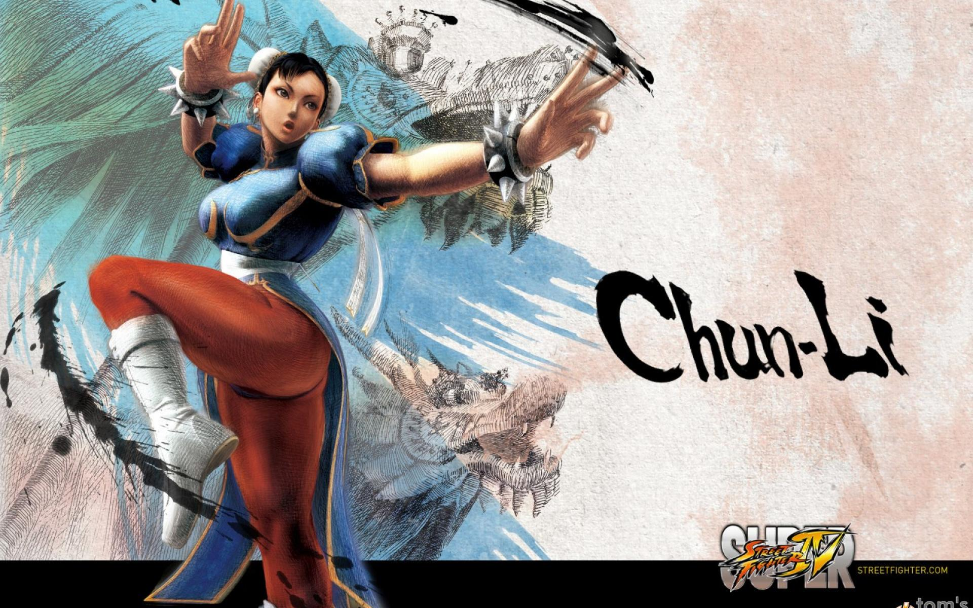 Free Download Street Fighter Chun Li 1920x1200 For Your Desktop