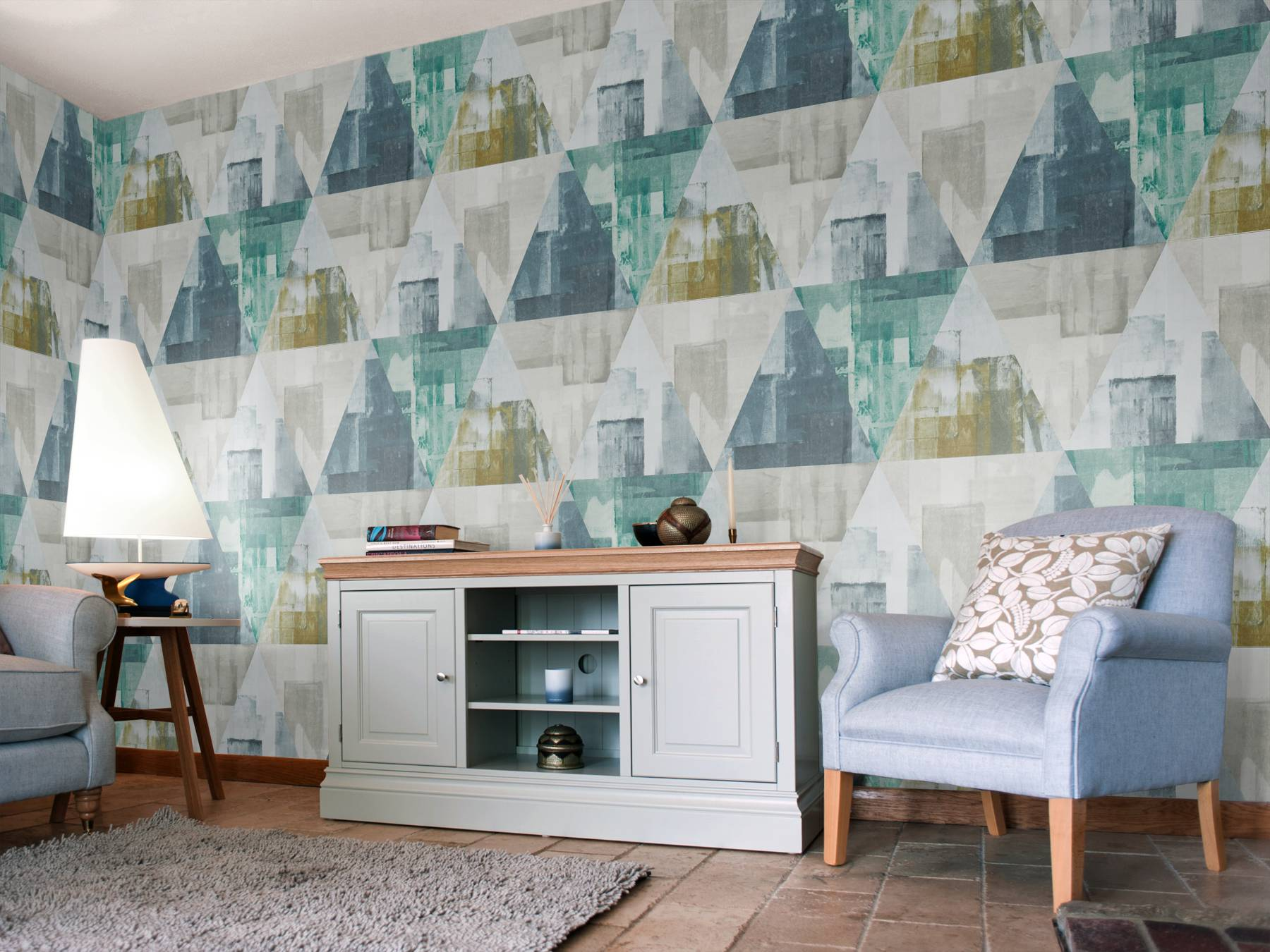 Geodesic Emerald and Linden by Harlequin   Wallpaper Brewers Home 1800x1350