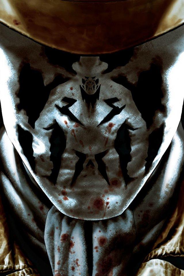 Before Watchmen   Rorschach iphone wallpaper 640x960