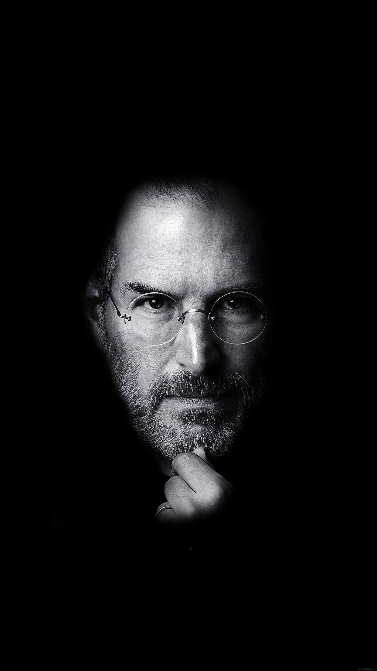 Steves Wallpaper   Steve Jobs tribute wallpapers for iPhone 6 and 1242x2208