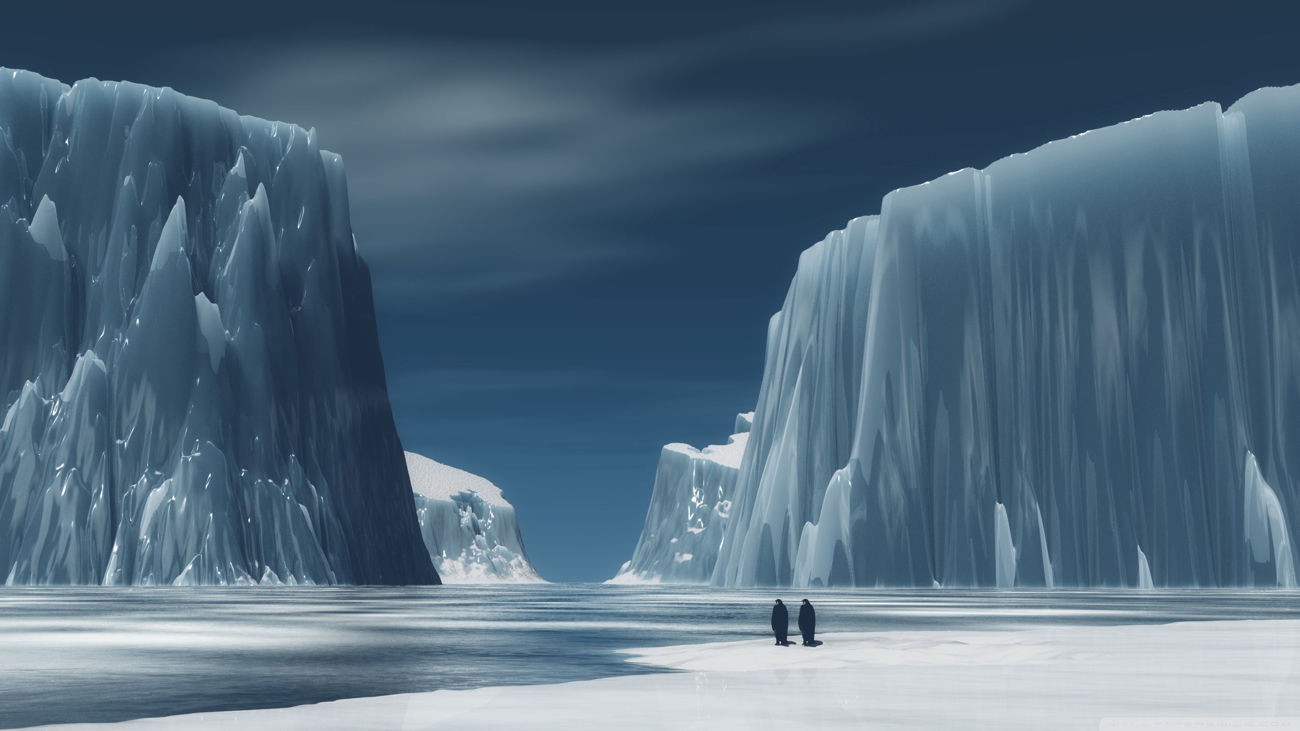 Antarctica Wallpaper for Desktop 2560x1440