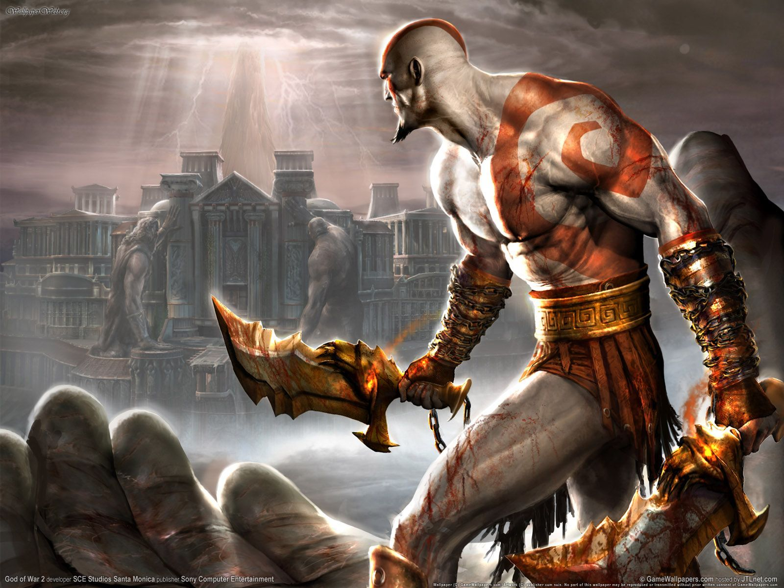 Description God of War Wallpaper is a hi res Wallpaper for pc 1600x1200