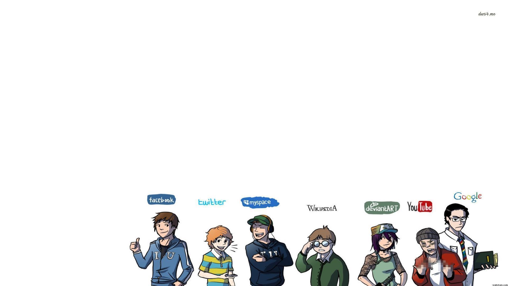 Desktop Wallpaper Social Wallpapering - WallpaperSafari