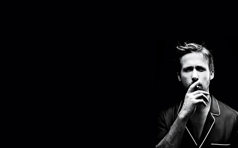 Ryan Gosling Black And White Wallpaper Ryan gosling 1440x900
