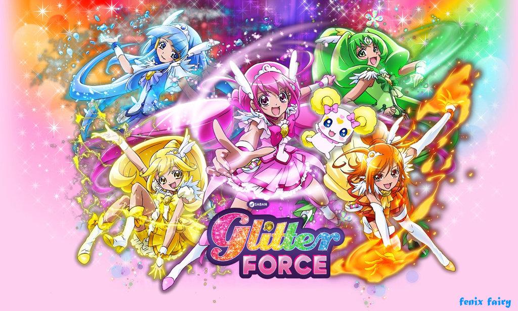 Glitter Force Wallpaper Wallpapersafari