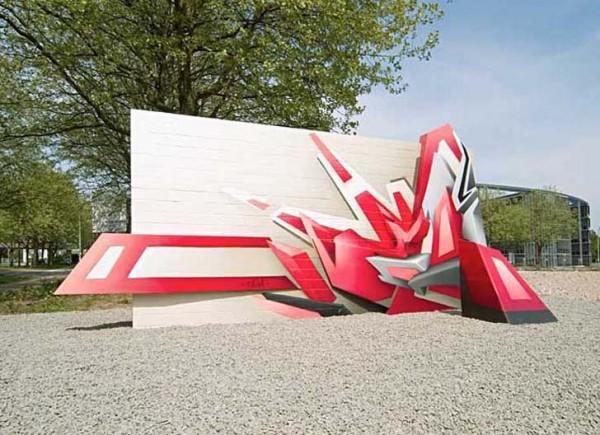 Graffiti Wallpapers Creator Artist Daim Graffiti Alphabet Letters 600x435