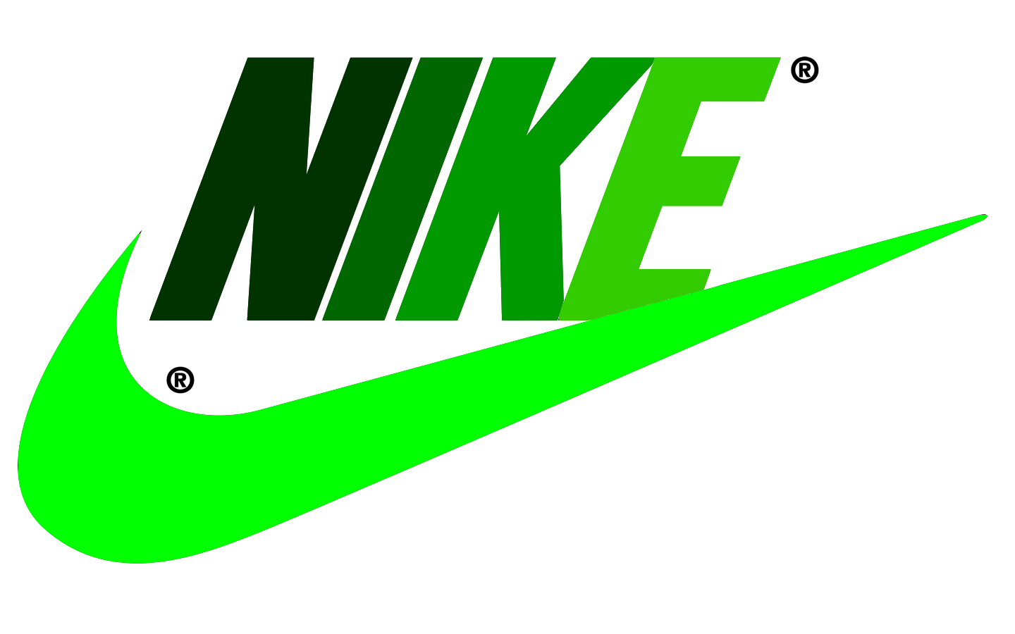 Green Nike Wallpapers 1440x900