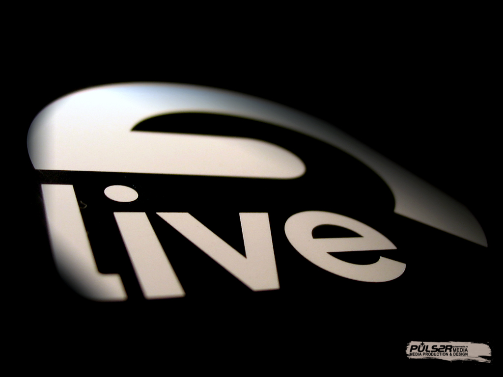 Ableton Live perspective logo detail World Wallpaper Collection 1024x768