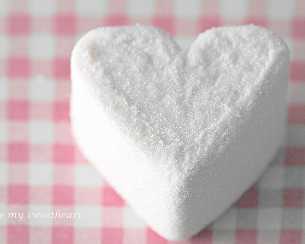 Heart Shaped Marshmallow wallpapers Heart Shaped Marshmallow stock 1280x1024