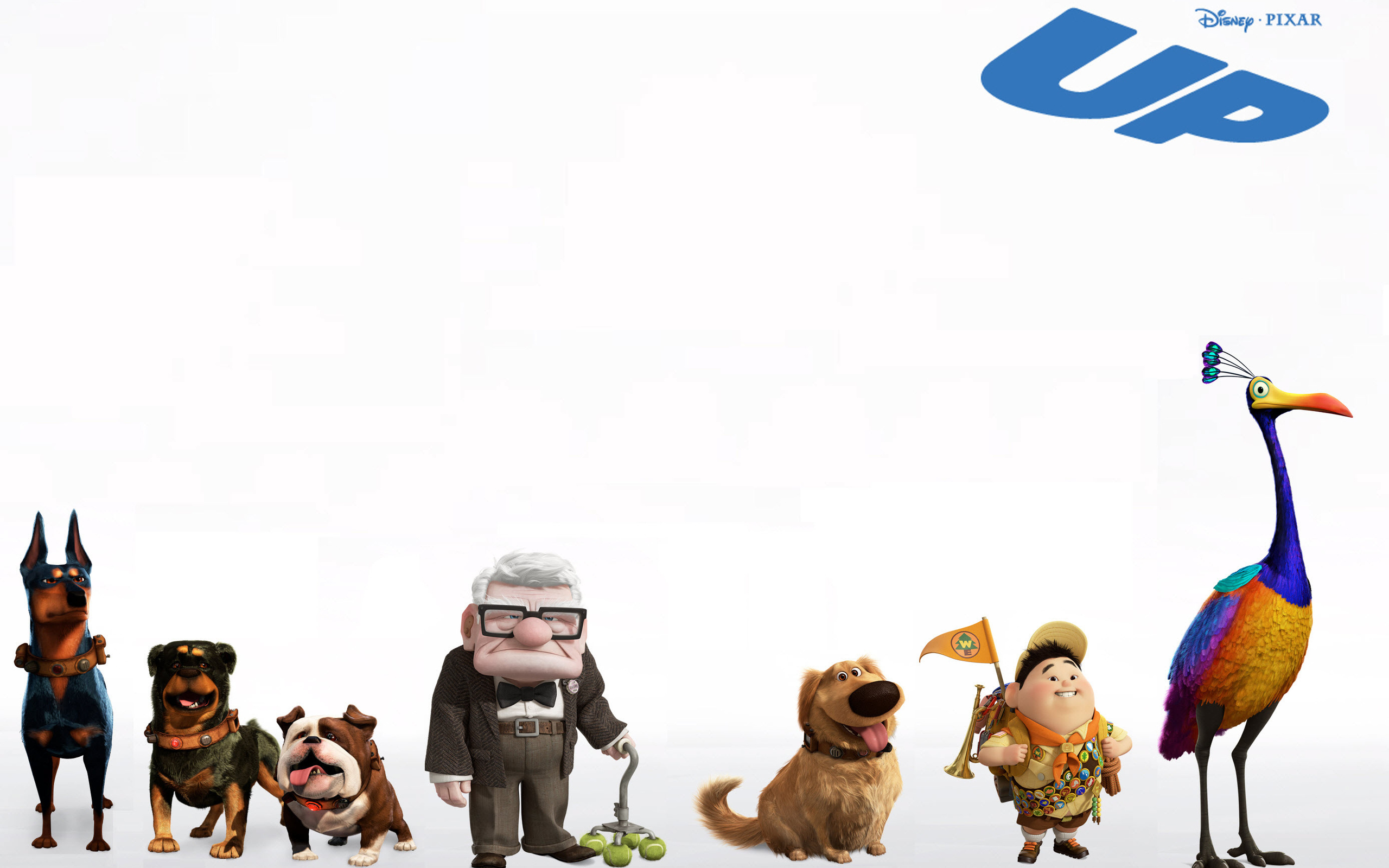 Up Wallpaper Up animals kids a dog movie desktop Wallpapers 2560x1600