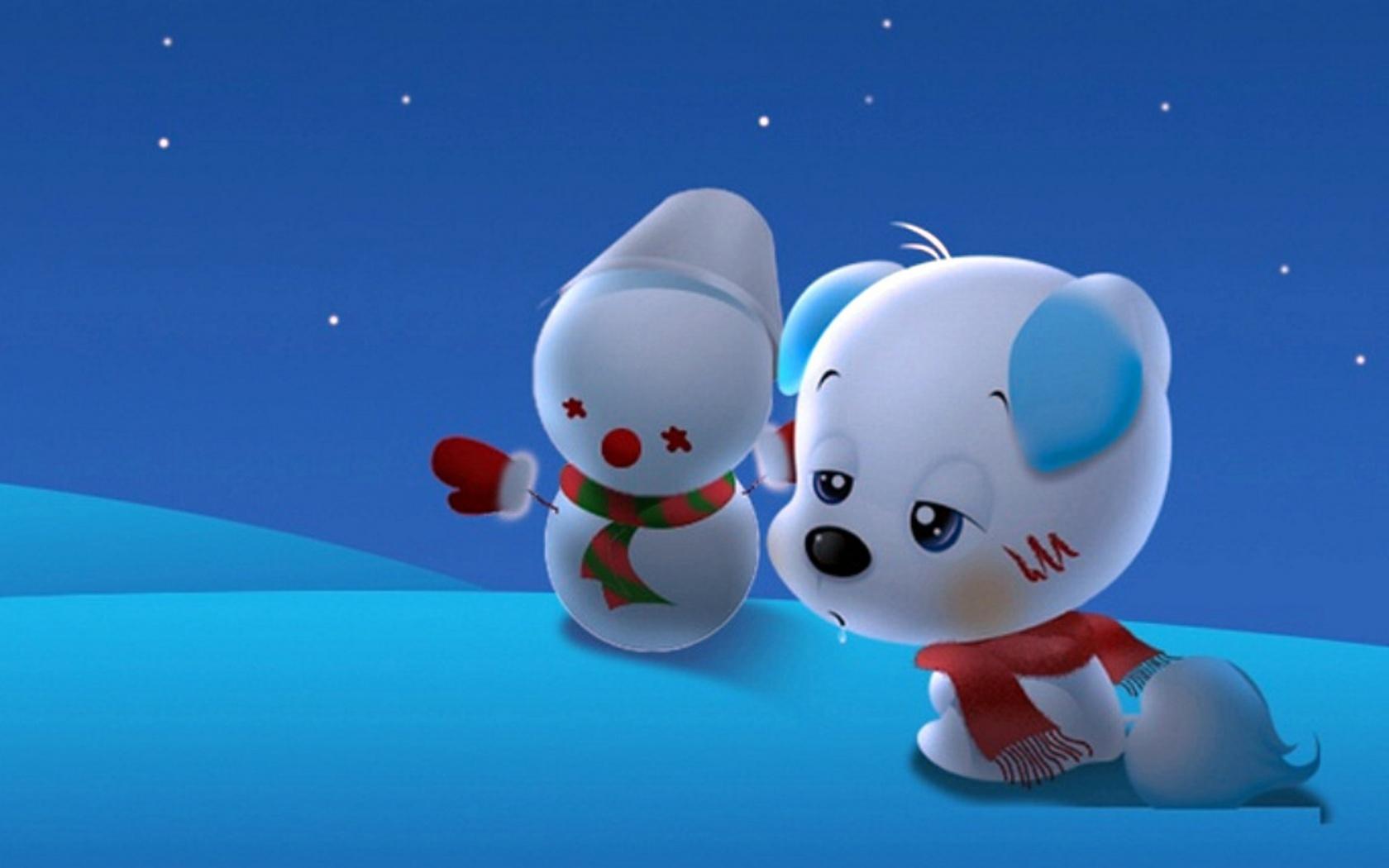 Cartoon Puppy Wallpapers Cute Cartoon Puppy Wallpaper download 1680x1050