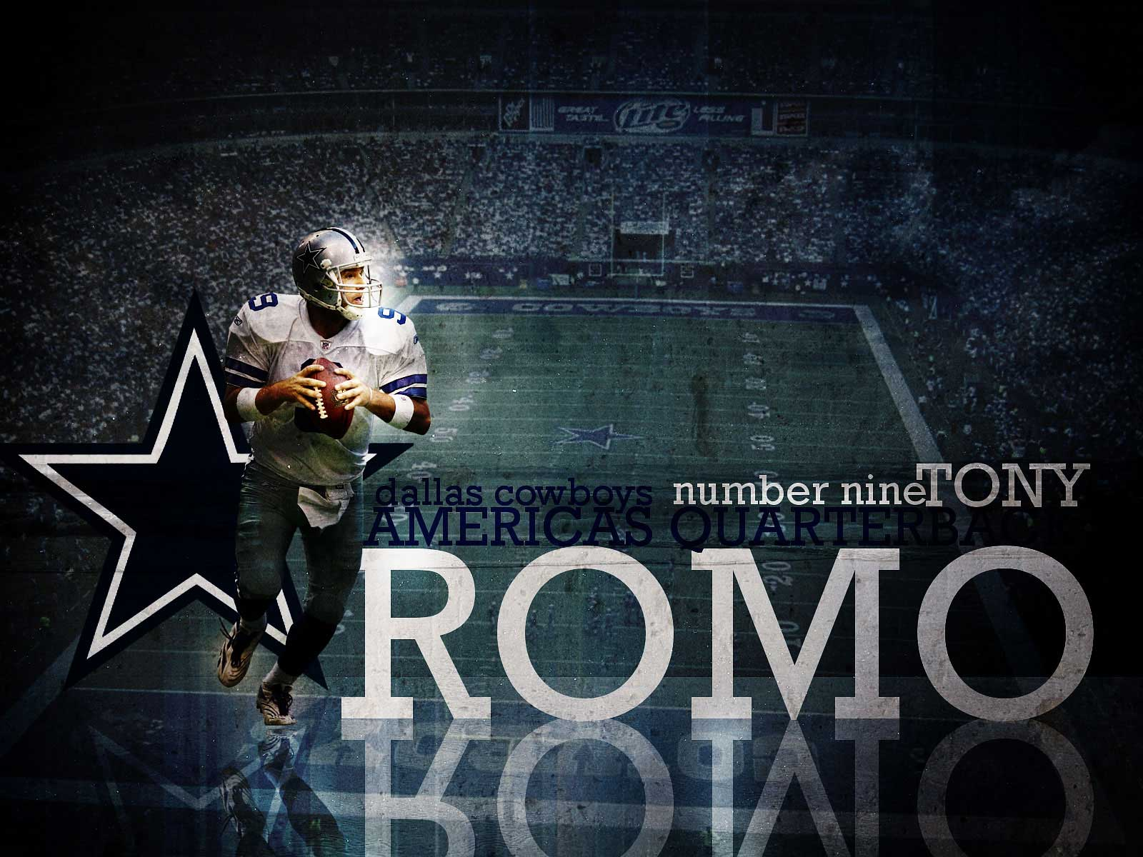 Tony Romo Wallpapers Tony Romo Wallpaper Desktop Backgrounds 1600x1200