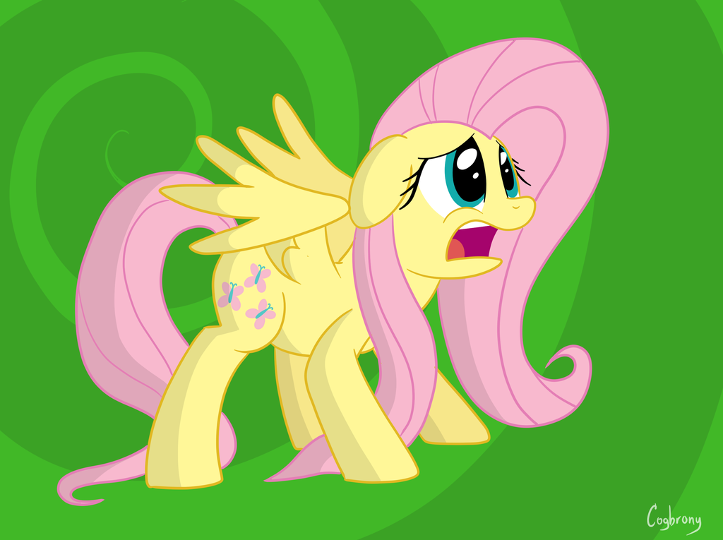 Scared Fluttershy by COGBrony 1024x765