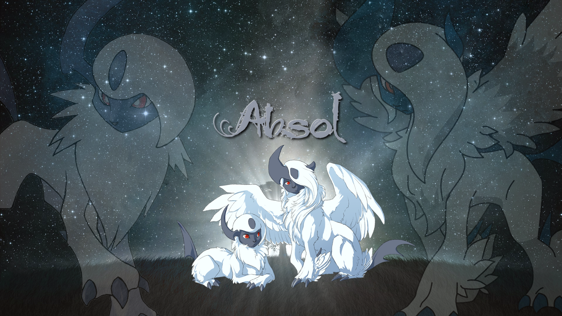 Absol Wallpaper by Thoron95 1920x1080