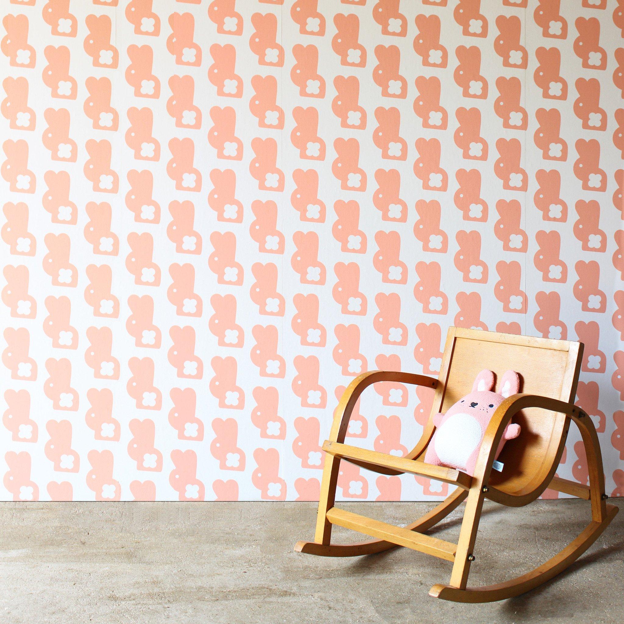 Bunny Wallpaper   Pink Shake   racheljpowell 2048x2048