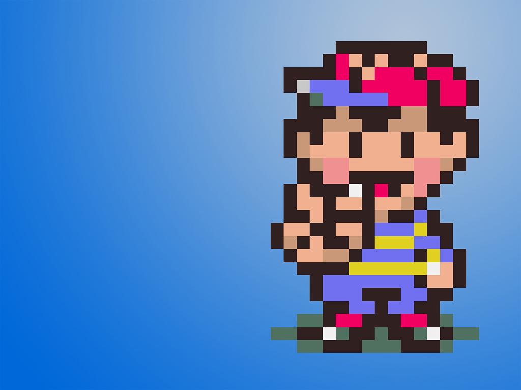 Ness Video Game Wallpaper 4542   Wallpaperesque 1024x768