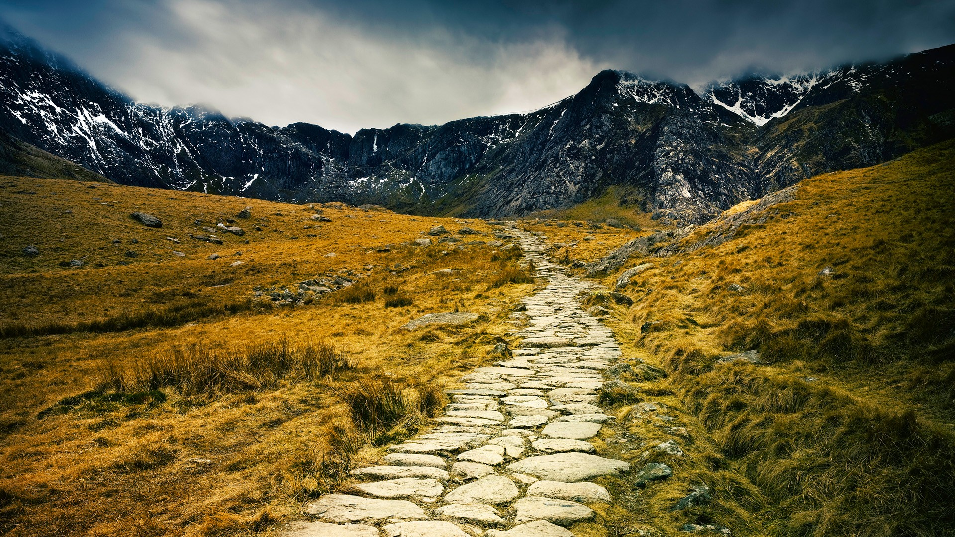 Path Wales Wallpaper 1920x1080 Path Wales National Park 1920x1080