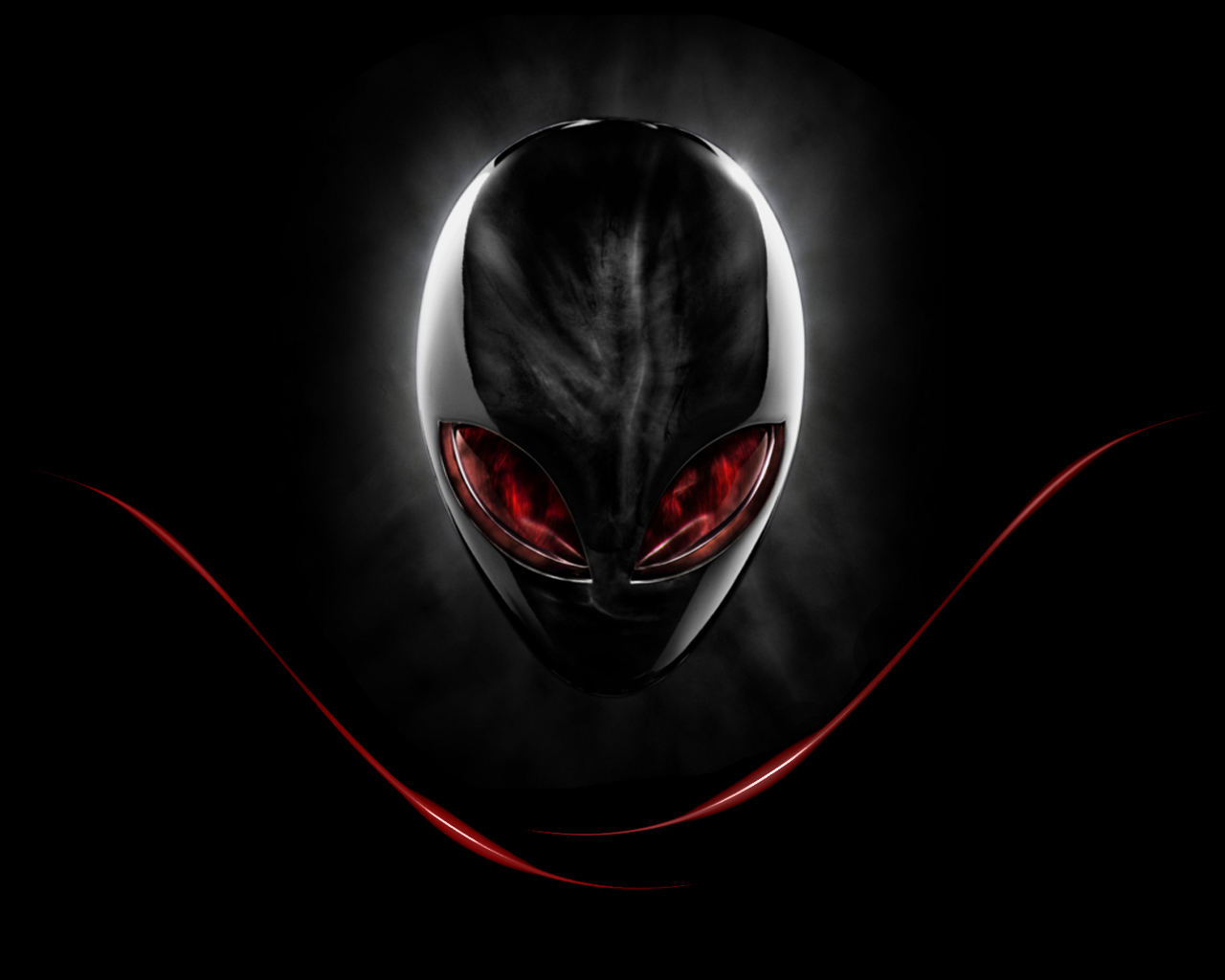 Red Alienware Wallpapers Wallpaper Hd Background Desktop 1280x1024