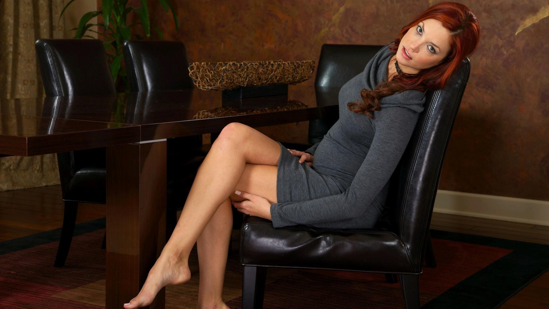 Legs Women Wallpaper 1920x1080 Legs Women Dress Redheads Feet 1920x1080