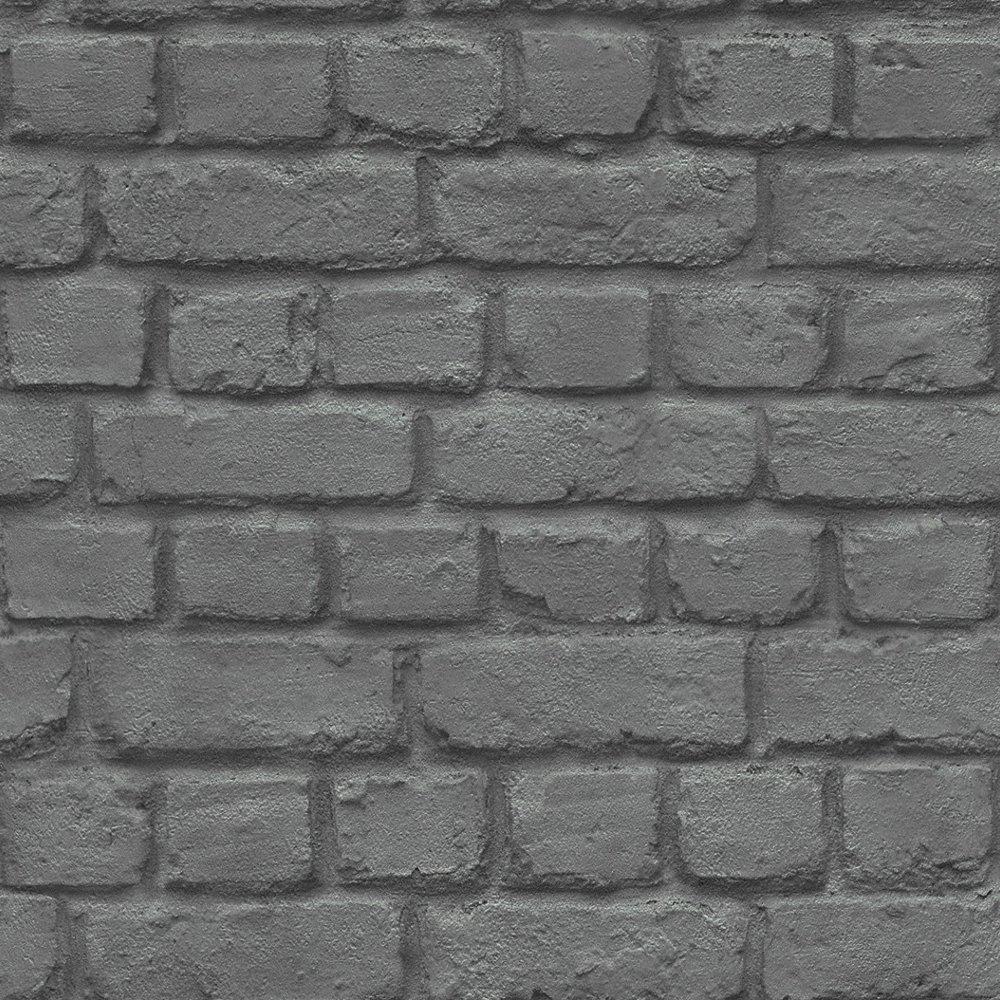 Rasch Brick Stone Wall Realistic Faux Effect Textured Wallpaper 226744 1000x1000