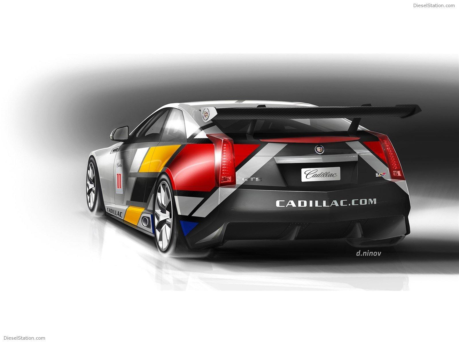 Home Cadillac Cadillac CTS V Coupe Race Car 1600x1200