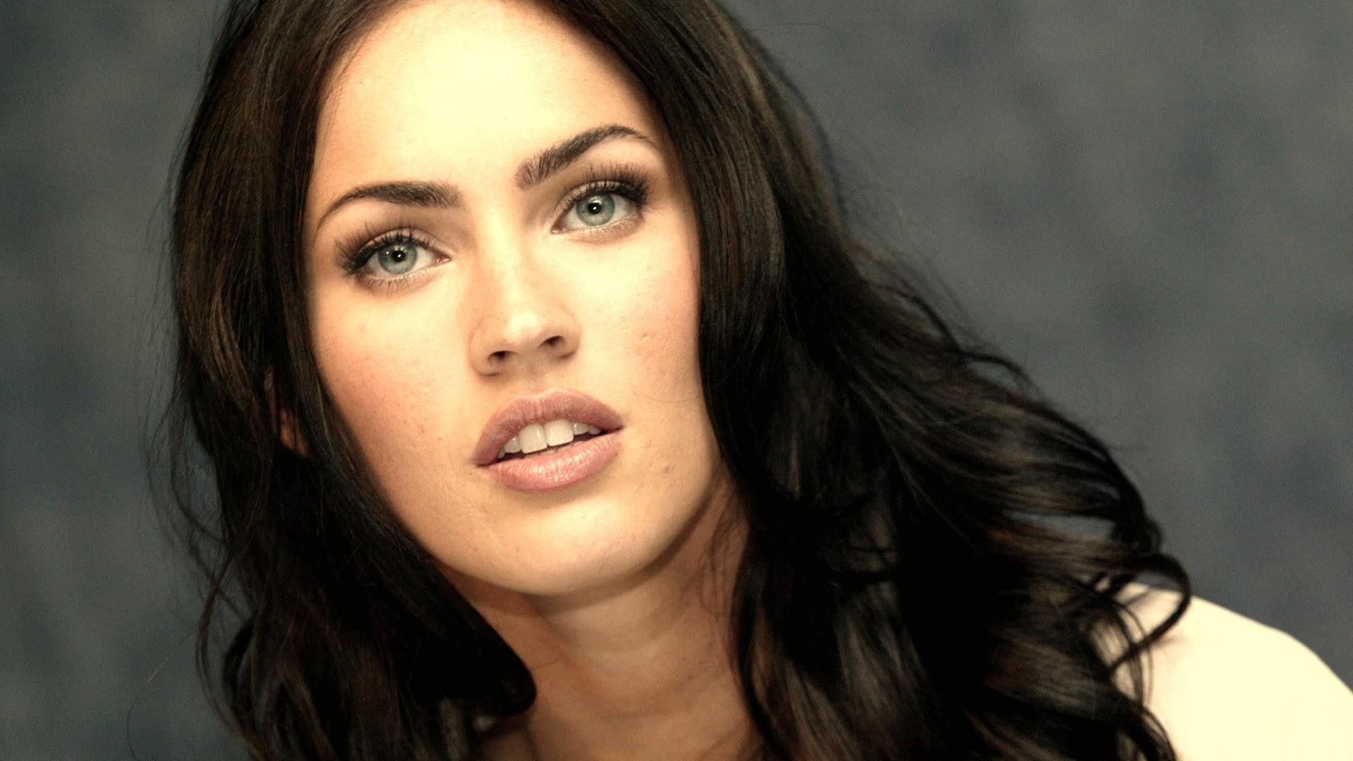 Megan Fox Close Up Picture 1080p HD Wallpaper Girls Celebrities 1920x1080